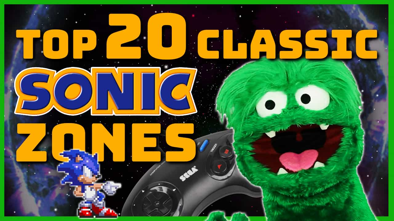 Top 20 Classic Sonic Zones